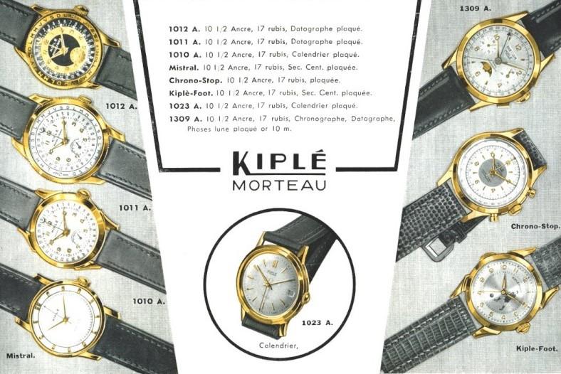 Publicité Kiplé 1955.