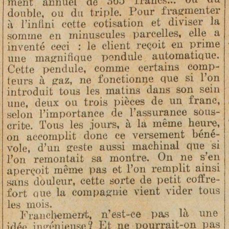 Excelsior, numéro du 23 mai 1930.