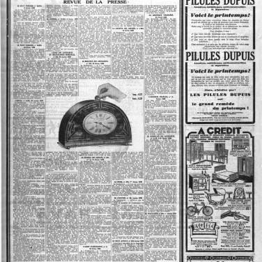 Page consacrée dans Le Petit Parisien du 16 juin 1929.