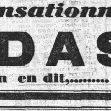 Réclame dans Le Petit Parisien, 1929.