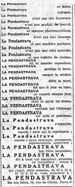 L'Intransigeant, mai 1928.